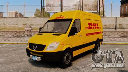 Mercedes-Benz Sprinter 2500 Delivery Van 2011 for GTA 4