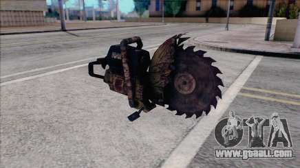 Chainsaw from Silent Hill Home Coming for GTA San Andreas