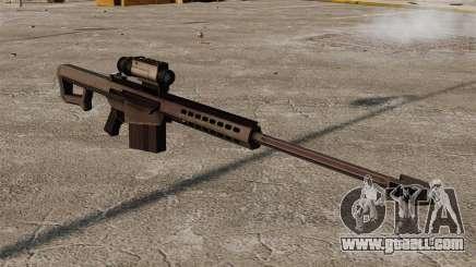 Barrett M107 sniper rifle for GTA 4