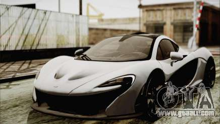 McLaren P1 2014 v2 for GTA San Andreas