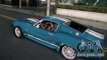 Shelby GT500 E v2.0 for GTA San Andreas