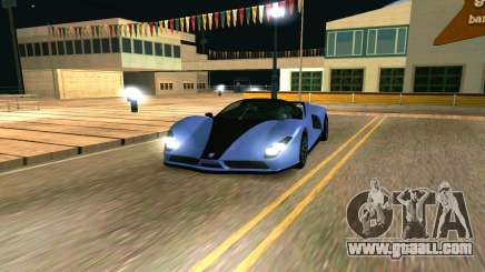 The Cheetah of GTA 5 for GTA San Andreas