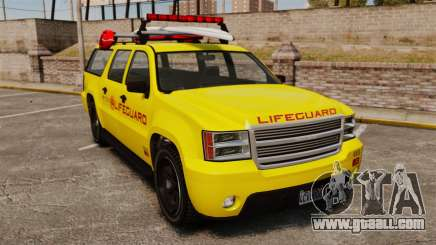 GTA V Declasse Granger 3500LX Lifeguard for GTA 4