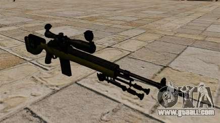 Cnajperskaâ rifle M14 DMR for GTA 4