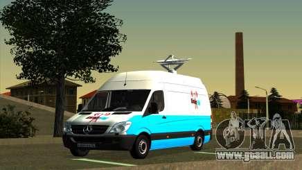 Mercedes Sprinter Entire FM for GTA San Andreas