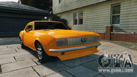 Chevrolet Camaro SS 1967 for GTA 4
