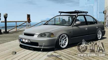 Honda Civic 1.6i ES for GTA 4