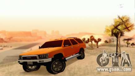 Toyota 4Runner 1995 for GTA San Andreas