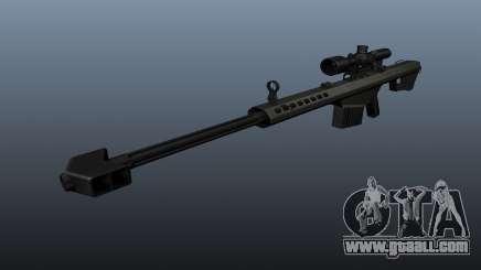 Barrett M82A1 sniper rifle for GTA 4