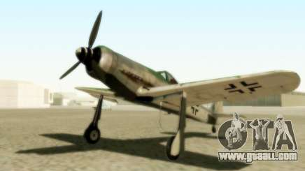 Focke-Wulf FW-190 D12 for GTA San Andreas