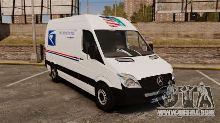 Mercedes-Benz Sprinter US Mail for GTA 4
