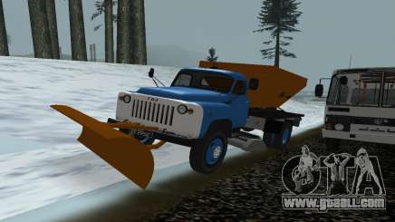 53 GAS snow blower for GTA San Andreas