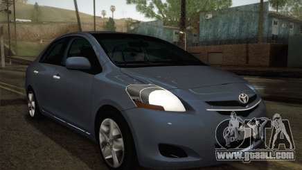 Toyota Vios 2008 for GTA San Andreas