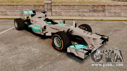 Mercedes AMG F1 W04 v3 for GTA 4