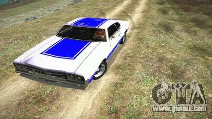 GTA IV Sabre Turbo for GTA San Andreas