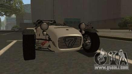 Caterham 7 Superlight R500 for GTA San Andreas