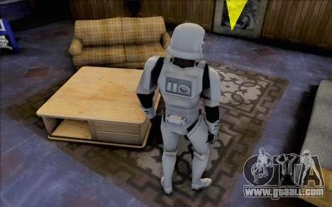 Stormtrooper from Star Wars for GTA San Andreas third screenshot