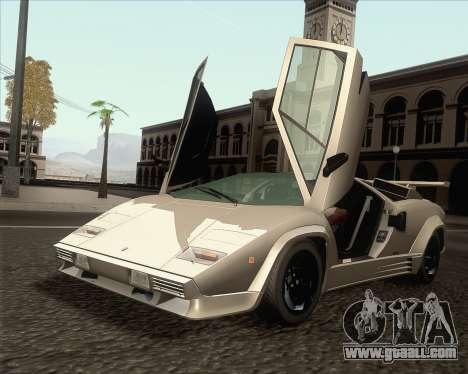 Lamborghini Countach LP500 Quattrovalvole 1988 for GTA San Andreas