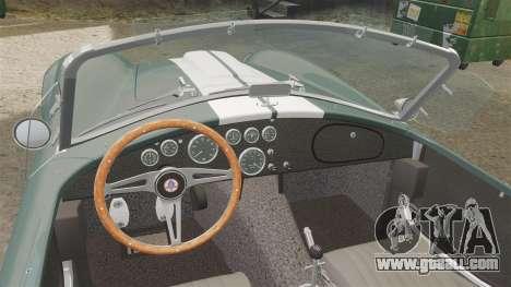 Shelby Cobra 427 SC 1965 for GTA 4 back view