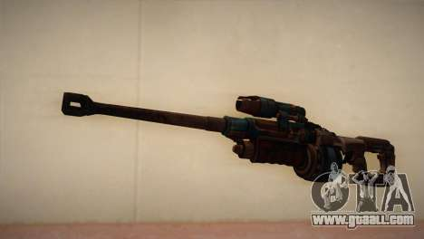 Sniper rifle from Bulletstorm for GTA San Andreas