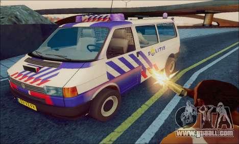 Volkswagen T4 Politie for GTA San Andreas