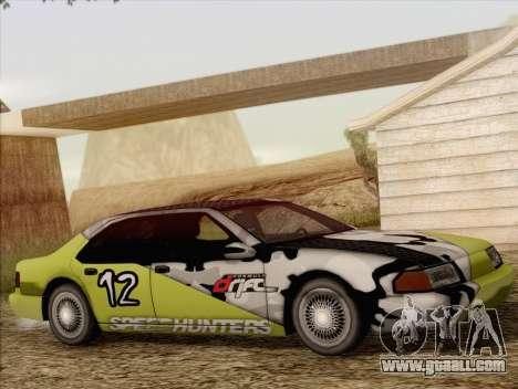 Fortune Sedan for GTA San Andreas side view