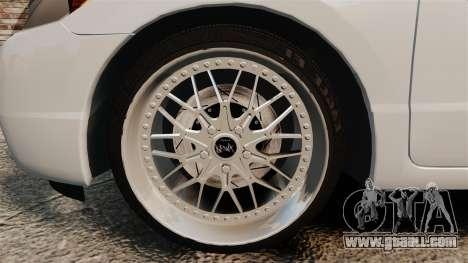 Honda Civic Si v2.0 for GTA 4 back view