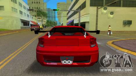 Toyota Celica XTC for GTA Vice City back left view