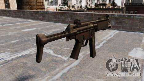 MR5A3 submachine gun for GTA 4 second screenshot