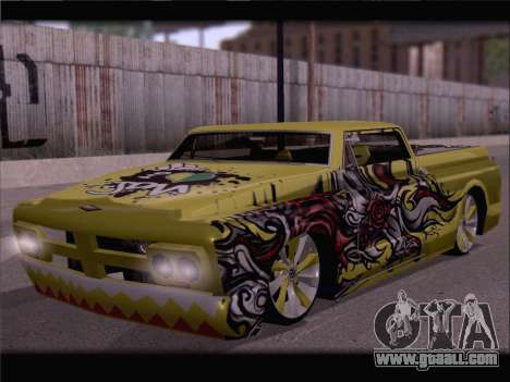 New Slamvan for GTA San Andreas