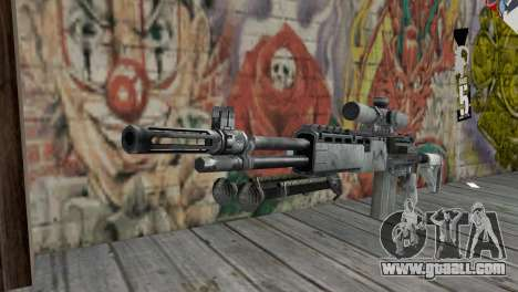 M14 EBR Arctic for GTA San Andreas