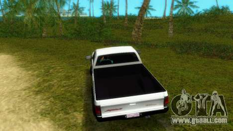 GMC Cyclone 1992 for GTA Vice City back left view