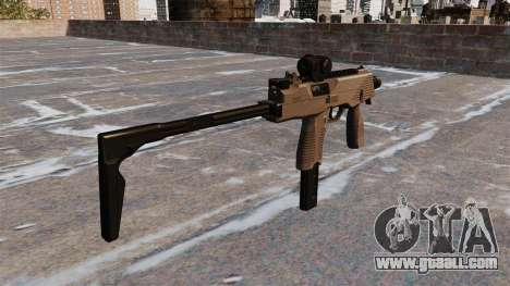 MP9 submachine gun tactical for GTA 4 second screenshot