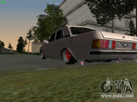 GAZ 3102 Stance for GTA San Andreas right view