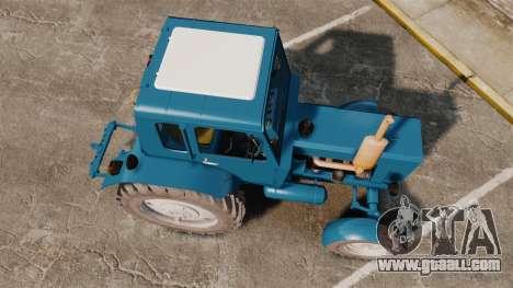 Tractor MTZ-80 for GTA 4 right view