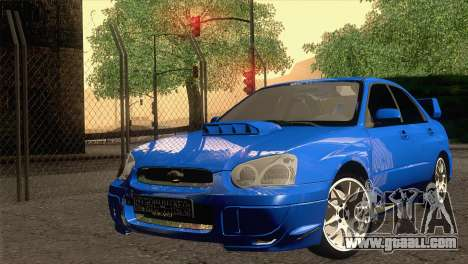 Subaru WRX STI 2004 for GTA San Andreas