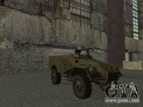 BTR-40 for GTA San Andreas upper view