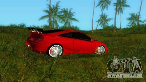 Toyota Celica XTC for GTA Vice City left view