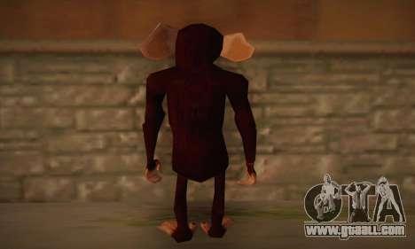 Chimp for GTA San Andreas second screenshot