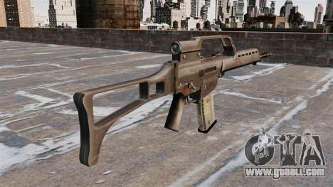 HK G36 assault rifle for GTA 4 second screenshot