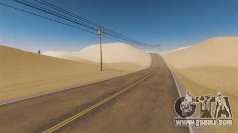 Location Of Desert Highway for GTA 4 third screenshot