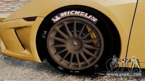 Lamborghini Gallardo 2013 v2.0 for GTA 4 back view