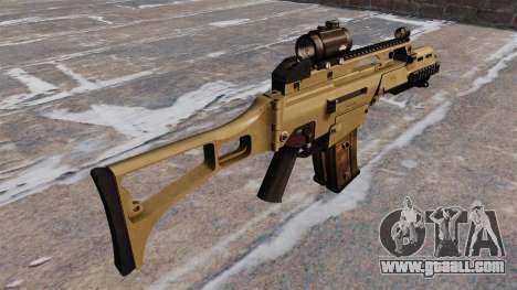 Tactical HK G36C assault rifle for GTA 4 second screenshot