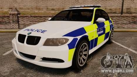BMW 330i Metropolitan Police [ELS] for GTA 4
