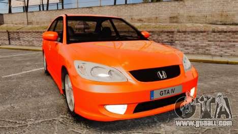 Honda Civic VTEC for GTA 4