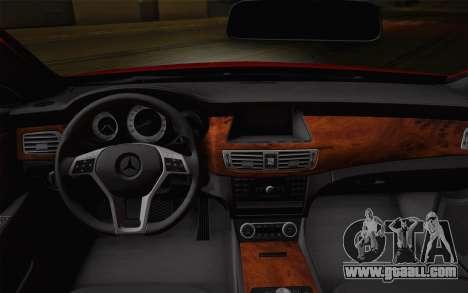 Mercedes-Benz CLS 63 AMG 2012 Fixed for GTA San Andreas wheels