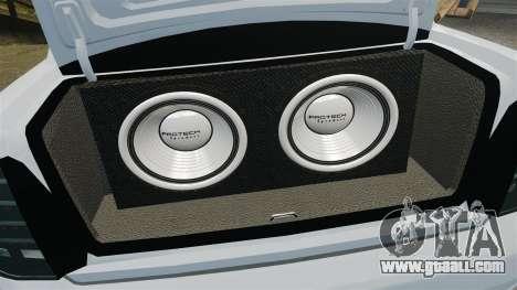 Vaz-2170 Lada Priora Turbo for GTA 4 side view