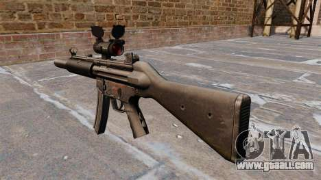 HK MP5SD2 submachine gun for GTA 4 second screenshot