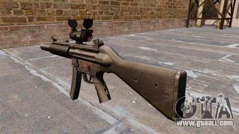 HK MP5SD2 submachine gun for GTA 4 second screenshot