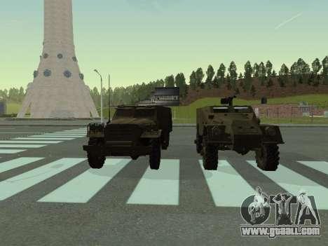 BTR-40 for GTA San Andreas inner view